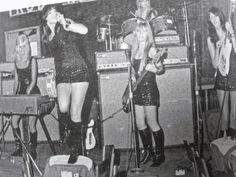 The Pleasure Seekers - a 1960s-era, all-female garage rock band from Detroit.