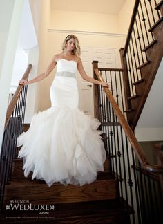 Vera Wang mermaid. I'm not a fan of mermaid dresses... But you can't go wrong with Vera wang