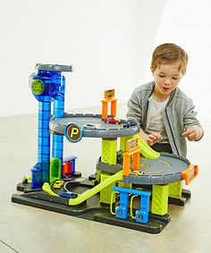 This fun multi-storey garage from Big City has lifts and ramps to zoom down and lots of fun sounds.