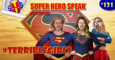 This week the guys talk Supergirl.That's right, they discuss, dissect and over analyse the latest superhero TV show featuring the Girl of Steel. Staring Melissa Benoist, Mehcad Brooks, Jeremy Jordan and Calista Flockhart and is based on the DC Comics character Supergirl (Kara Zor-El) created by Otto Binder and Al Plastino. Currently the highest rated superhero show on TV and the guys are enjoying it (for the most part). So sit back and enjoy the terrible girls talk about Supergirl!