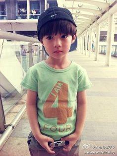 Luhan's look a like Ye Ziyu He's so cute