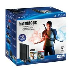PS3 250 GB Black Friday 2012 Bundle