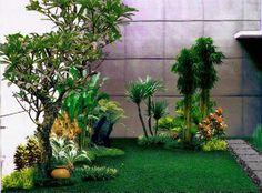 gambar halaman rumah minimalis cantik indah 1 taman