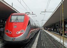 High-speed train from Naples