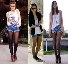 combinacion de botas con shorts