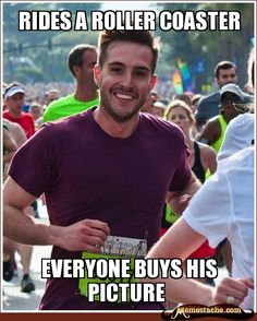 Ridiculously Photogenic Guy attacks again!