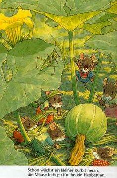 ratoncitos de biblioteca ilustraciones - Buscar con Google
