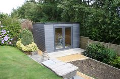 build a garden office. Insulated Garden Studio Office Room Self Build SIP Kit + Foundations EPDM Roof A