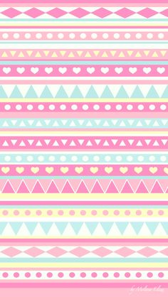 super cute girly blue pink yellow lovely wallpaper i am obsessed with it