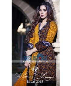 Online Buy Pakistani Designer Lawn Clothes 2015 Baltimore MD