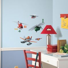 Disney Planes Fire & Rescue Wall Decals