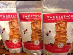 SweetStacks Gourmet Pancake & Waffle Mix derived from a GUAM Family Recipe (Camacho family in Agana Heights, GUAM)  http://sweetstacks.com/
