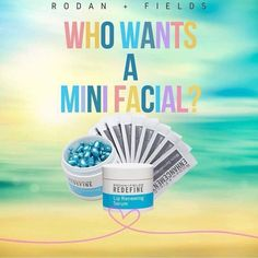 Rodan and Fields mini facial for Independent Consultants