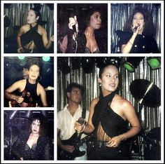 Young Selena in concert