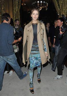 Elena Perminova Photo - Stella McCartney: Front Row - Paris Fashion Week Womenswear Spring / Summer 2013