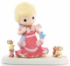 Cinderella and pink dress