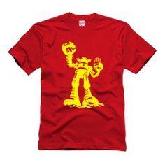 Camiseta Revolta dos Robôs Sheldon Cooper Big Bang Theory.