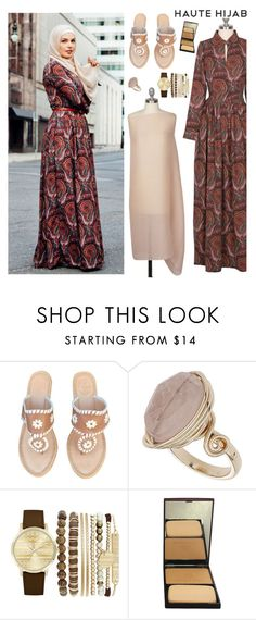 """Haute Hijab 6/2"" by sabinakopic ❤ liked on Polyvore featuring Jack Rogers, Topshop, Jessica Carlyle and Sisley"