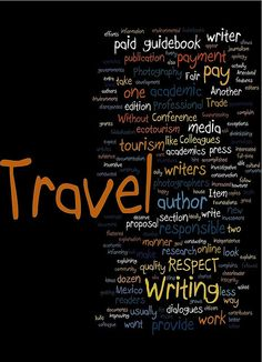 Responsible Travel Writing