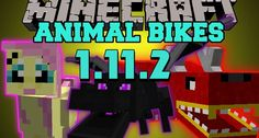 Animal Bikes Mods 1.11.2/1.10.2 (Bikes are made of Animals) is an interesting mod when bringing the bikes with the shape of animals in Minecraft. This mod will allow players to ride sheep, cow, pig or creeper, skeleton, zombie, even Ghast, and Wither.     New...