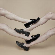 matemoromatemoro:  Gucci loafers for The Room Magazine with Nora Gyenge and Aron Filkey