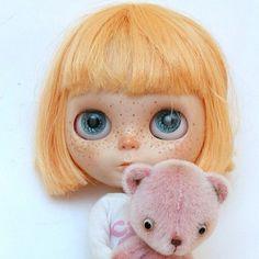 #freckled#blythe