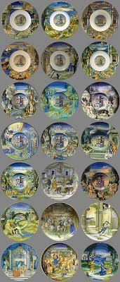 Set of Maiolica Plates made for Isabella d'Este, Niccolo da Urbino, Reggio, Glazes For Pottery, 16th Century, Renaissance, Decorative Plates, Marble, House, Home Decor, Decoration Home
