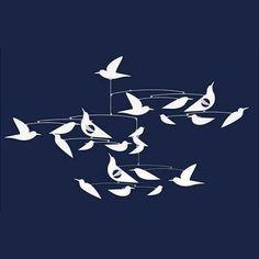 DJECO/モビールホワイトバードMibilesWhitebirds