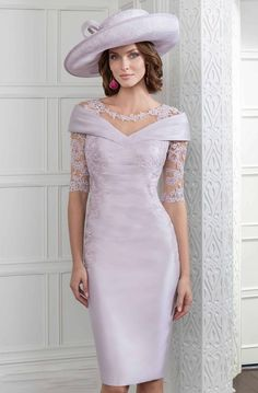 We round-up some of the best wedding day mother of the groom outfits out there and get some styling tips from the experts. How beautiful is this John Charles lilac mother of the groom dress? of the bride dress, Mother of the Groom Outfits Mother Of Bride Outfits, Mother Of Groom Dresses, Bride Groom Dress, Mothers Dresses, Groom Wedding Clothes, Mother Of The Bride Clothes, Mother Bride, Short Fitted Dress, Wedding Party Dresses