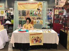 [fabric table runner and overhead banner printed by RewyndPrinting] Printed Materials, Savannah Chat, Banner, Printing, Photo And Video, Artist, Table, Fabric, Instagram