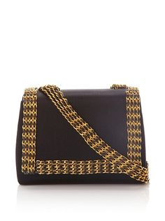 Chanel black and gold purse