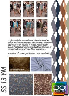 mens contemporary market spring summer 2013 color trends, homme coming