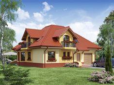 Beautiful House Plans, Beautiful Homes, Home Paint Colour, Modern Bungalow House, Modern Villa Design, Brickwork, Home Fashion, House Painting, Home Builders
