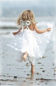 Disfrutando la playa...