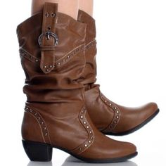 One day I will own a pair of brown cowgirl boots;) | My Style ...