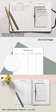 Bullet Journal Books, Book Journal, Journal Template, Stationery Templates, Lettering, Design, Drawing Letters, Brush Lettering