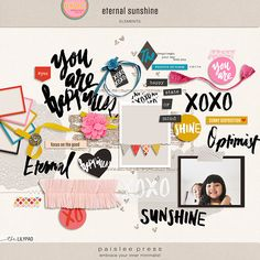 Eternal Sunshine Elements by paislee press