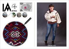 Romanian shirt hand-made by Daniela Ivu for the Ia Aievea project. *** Camasa cusuta de Daniela Ivu pentru proiectul Ia Aievea dupa un izvod de la Muzeul National al Taranului Roman. Roman