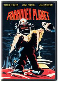 'Forbidden Planet' 1956: Walter Pidgeon, Anne Francis, Leslie Nielsen, Warren Stevens, Jack Kelly, Richard Anderson, Earl Holliman, Robby the Robot, George Wallace, Robert Dix, Jimmy Thompson, James Drury, George J. Folsey, Fred M. Wilcox, Ferris Webster, Nicholas Nayfack, Allen Adler, Cyril Hume, Irving Block, William Shakespeare.