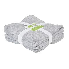 Mode Hand Towel Pack Silver Hand Towel
