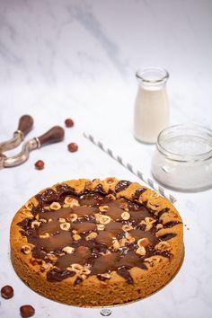 Brownie Cookies, Chocolate Cookies, Giant Cookies, Caramel, Finger Foods, Cookies Et Biscuits, Cookie Recipes, Food To Make, Food And Drink