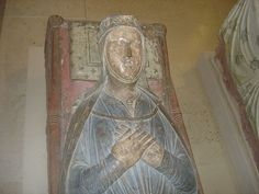 Isabella of Angoulême (c.1188–1246) was the only daughter & heir of Aymer Taillefer, Count of Angoulême & Alice of Courtenay,sister of Peter II of Courtenay, Latin Emperor of Constantinople & granddaughter of King Louis VI of France. She was queen consort of England, 2nd wife of King John from 1200 til his death in 1216. She was reigning Countess of Angoulême 1202-1246. She had 5 children by the king including Henry III. In 1220, Isabella married Hugh X of Lusignan, Count of La Marche, & 9…