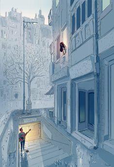 40 Romantic Digital Illustrations by Pascal Campion Digital Art Fantasy, Fantasy Art, Stock Design, Pascal Campion, Fantasy Couples, Love Illustration, Anime Scenery, Aesthetic Art, Love Art