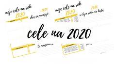 Jakie cele wyznaczyć na rok 2020? Arkusz do analizy celów w 8 sferach. Bullet Journal
