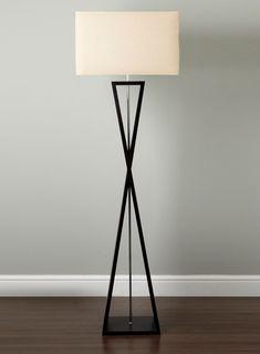 Photo 2 Of Kayden Floor Lamp · Standard LampsNight LampsLiving Room ...