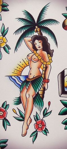 New flash sheet ready.For tattoo price and enquiries contact me at… #hawaiiantattoosflower