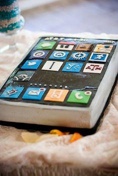 iPhone groom's cake?