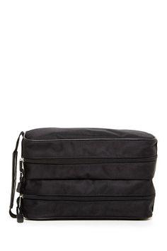 0ac61a8286 Double Zip Nylon Travel Case