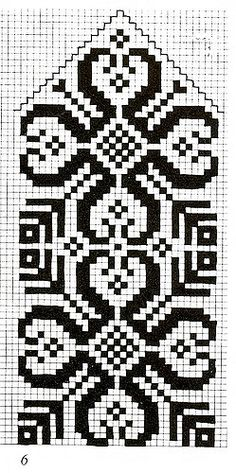 kinn'tyrill-rosa | HegeJL | Flickr Cross Stitch Bookmarks, Cross Stitch Borders, Cross Stitch Charts, Cross Stitch Embroidery, Cross Stitch Patterns, Knitting Charts, Knitting Stitches, Knitting Patterns, Knitted Mittens Pattern