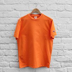 Champion Basic Crew T-Shirt - Orange